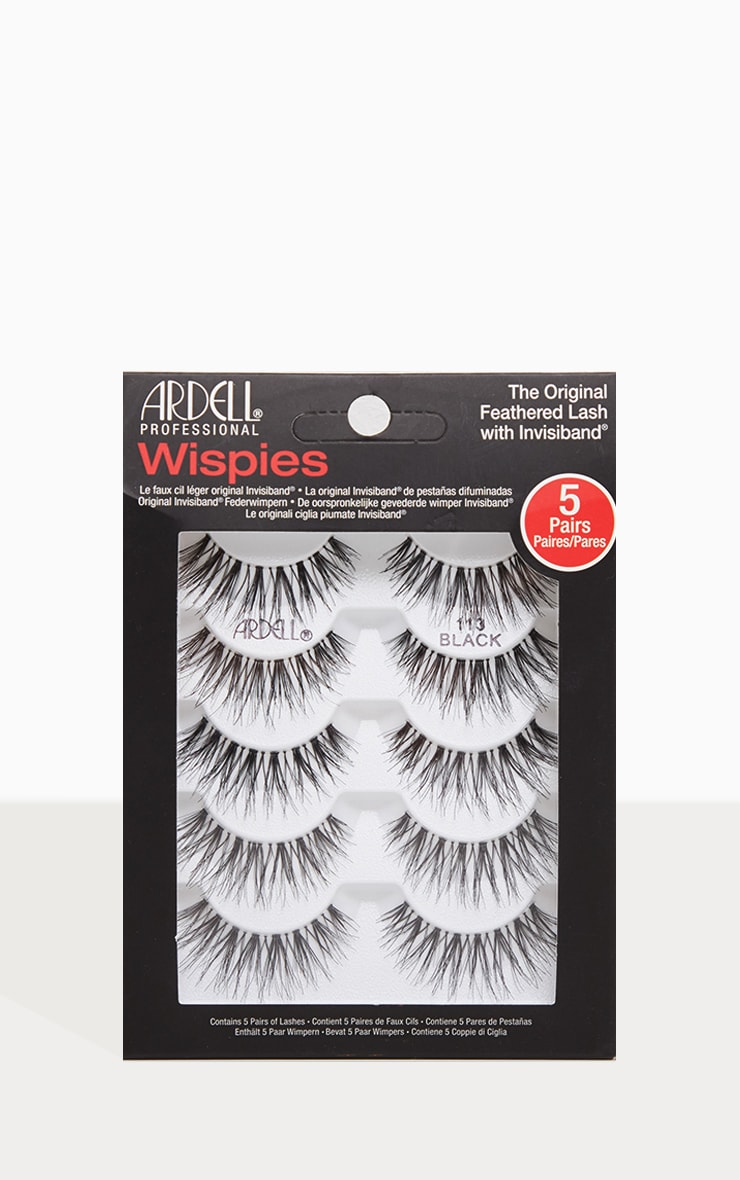 3162c43525d Ardell Lashes Wispies 113 5 Pack | Beauty | PrettyLittleThing USA