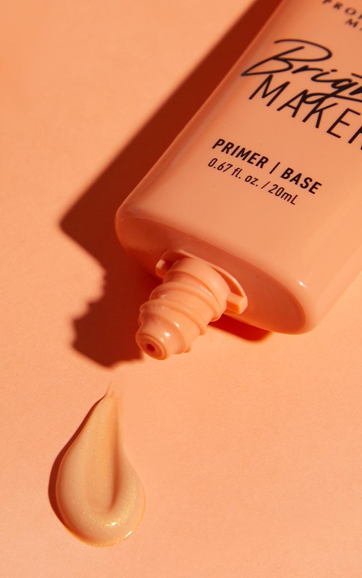 NYX PMU Bright Maker Super Brightening Papaya Face Primer 3