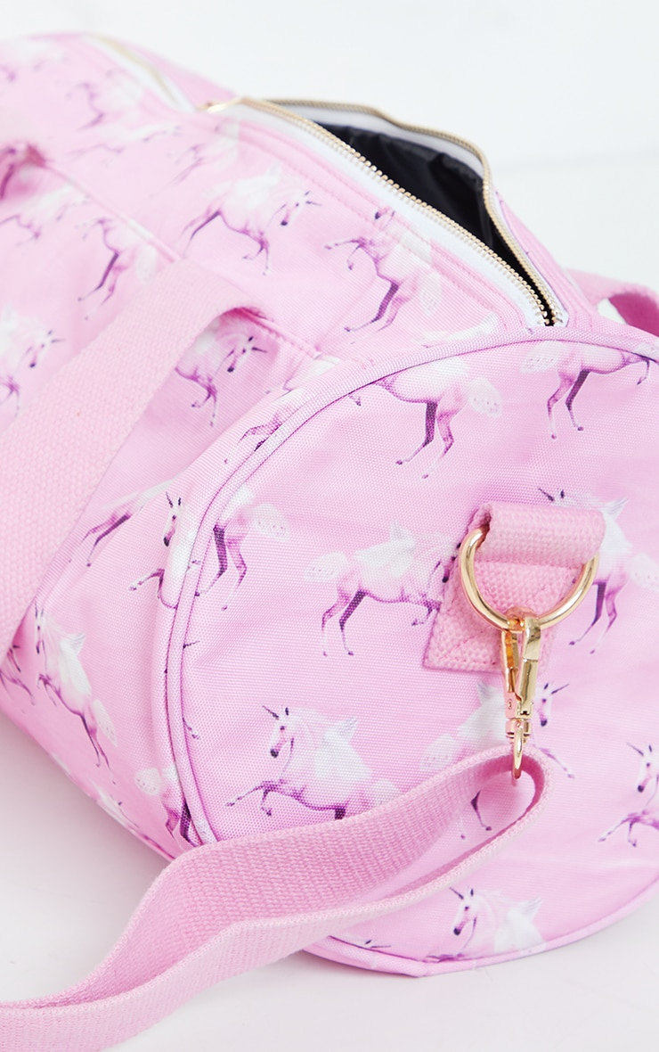 PRETTYLITTLETHING Unicorn Pink Gym Bag 5