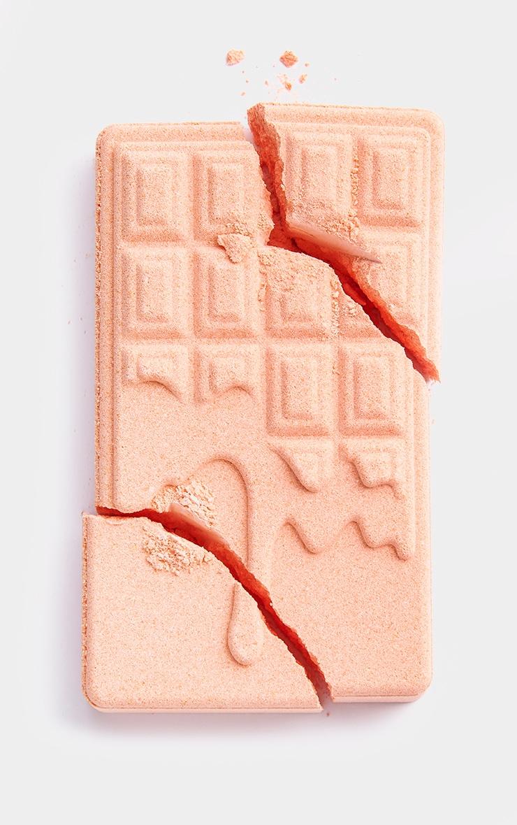 I Heart Revolution Chocolate Bar Bath Fizzer Peach 3