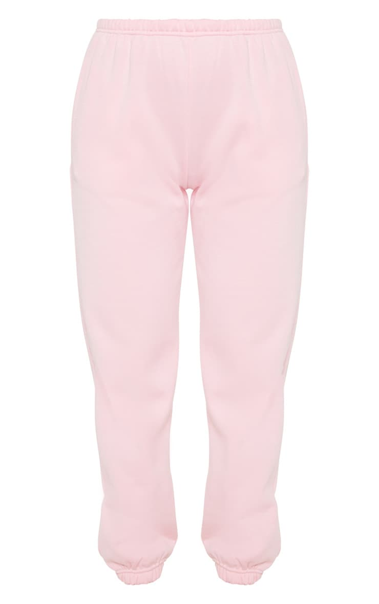 Pastel Pink Casual Jogger 3