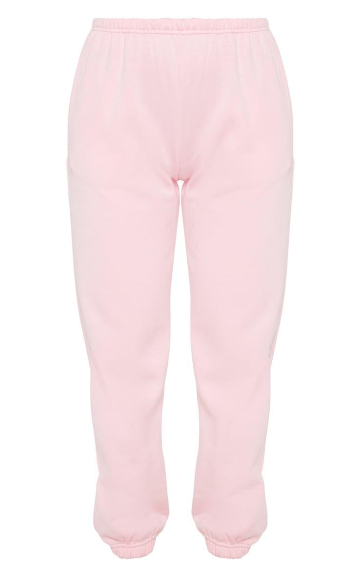 Pantalon de jogging rose pastel casual 3