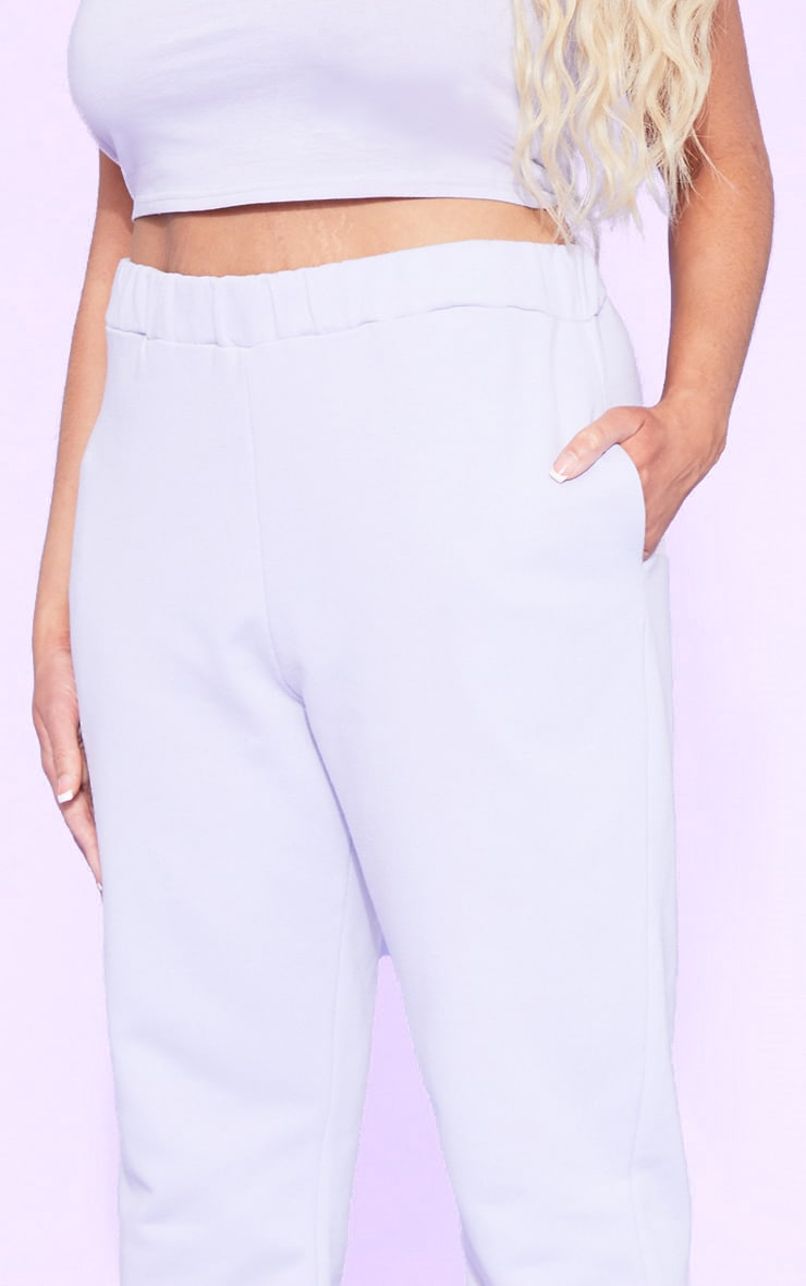 RECYCLED Plus Pale Violet Joggers 4