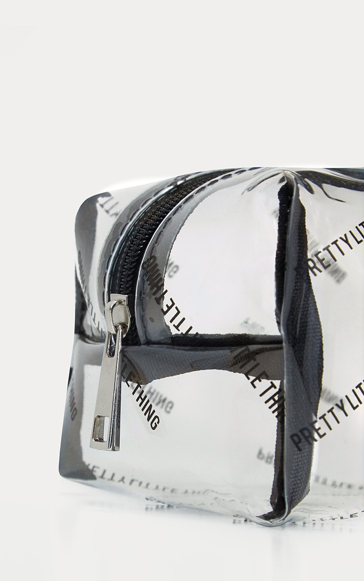 PRETTYLITTLETHING Transparent Cosmetic Bag 5