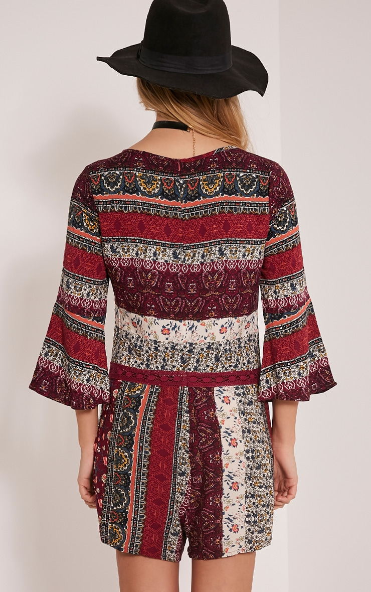 Abby Berry Printed Playsuit 2