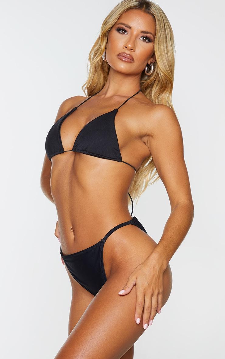 Black Tanga Side Bikini Bottom 2