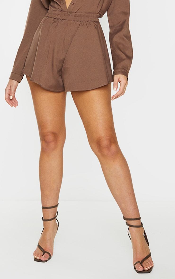 Mocha Floaty Shorts 2