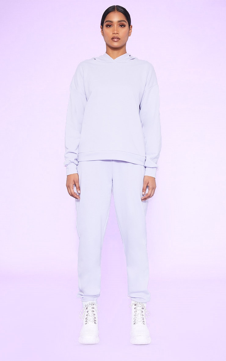 RECYCLED Pale Violet Oversized Hoodie 4