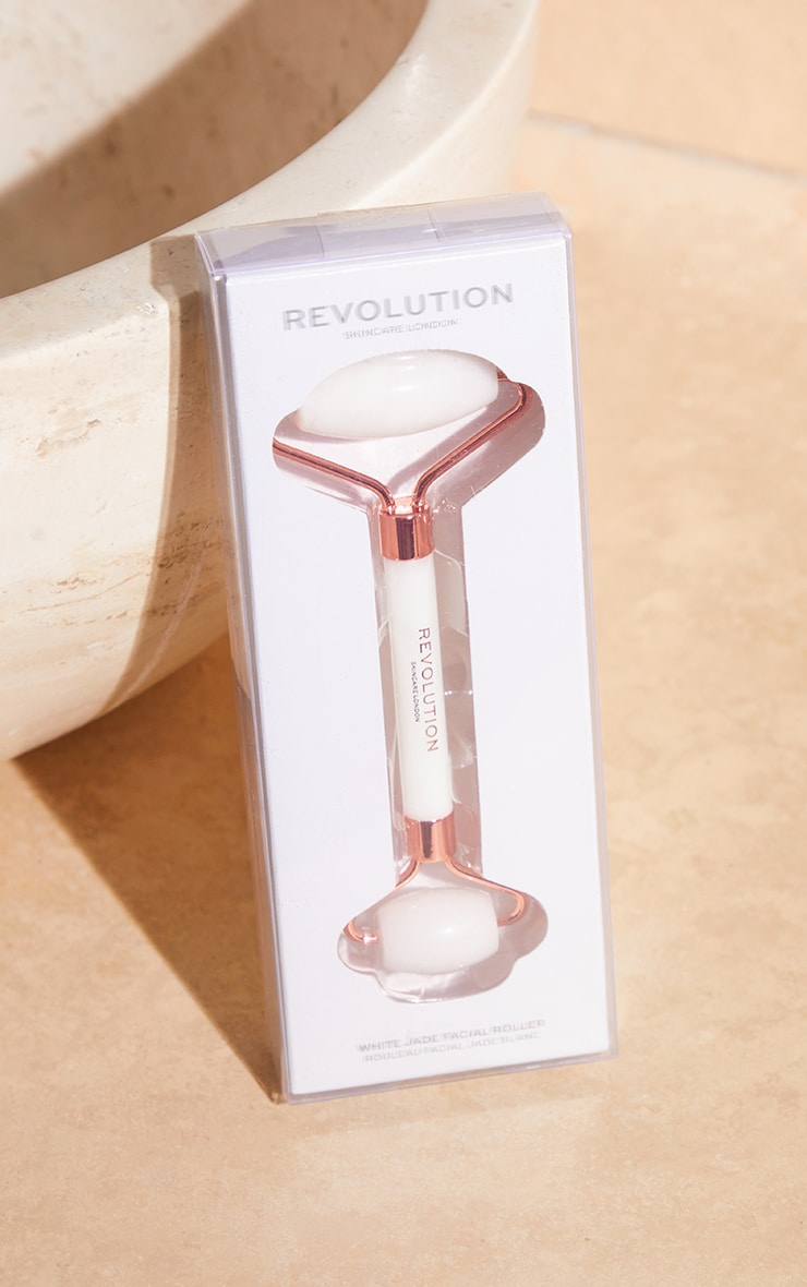 Revolution Skincare White Jade Roller 3