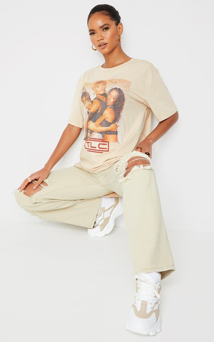 Sand TLC Photographic Print T Shirt 3