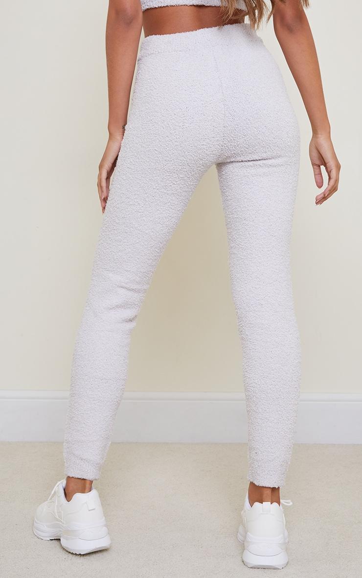 Grey Premium Fluffy Knitted Legging 3