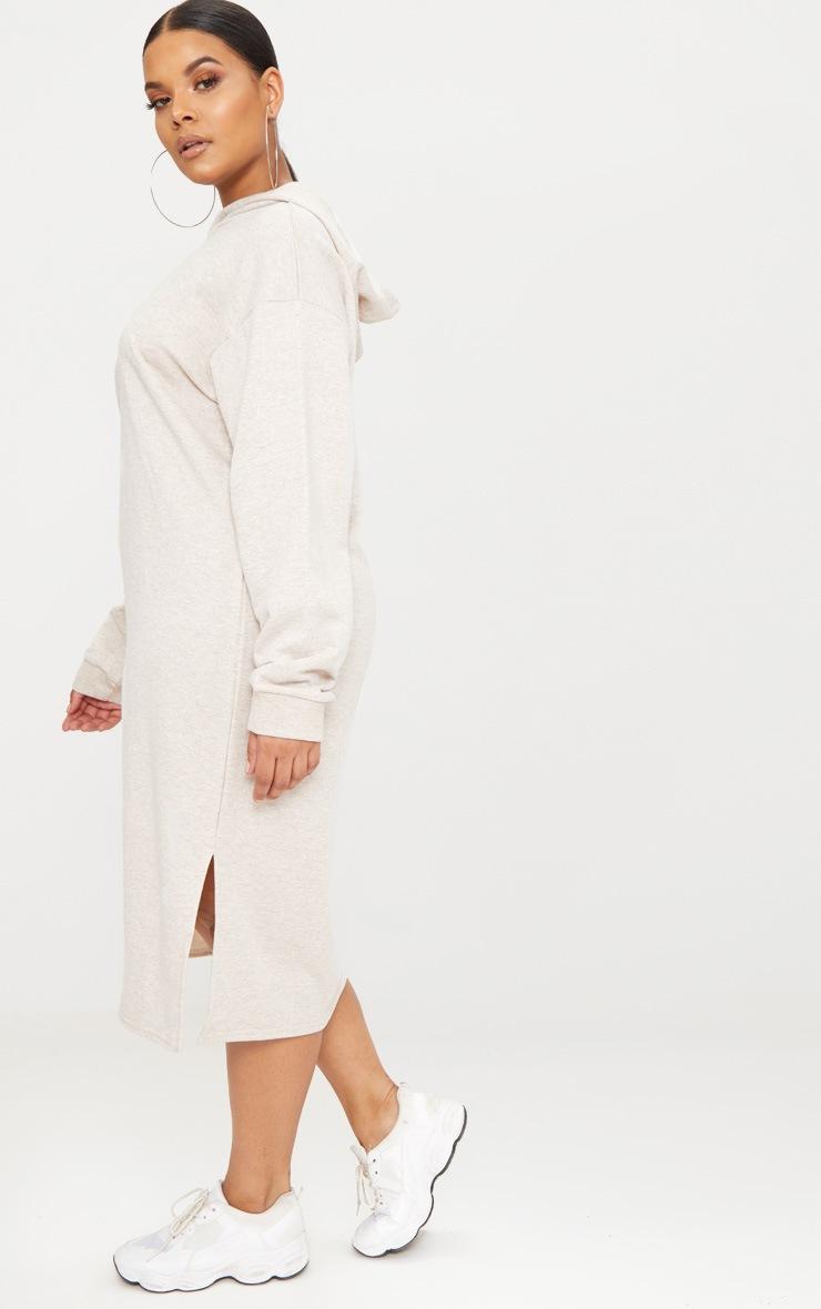 Plus Stone Midi Sweater Dress 4