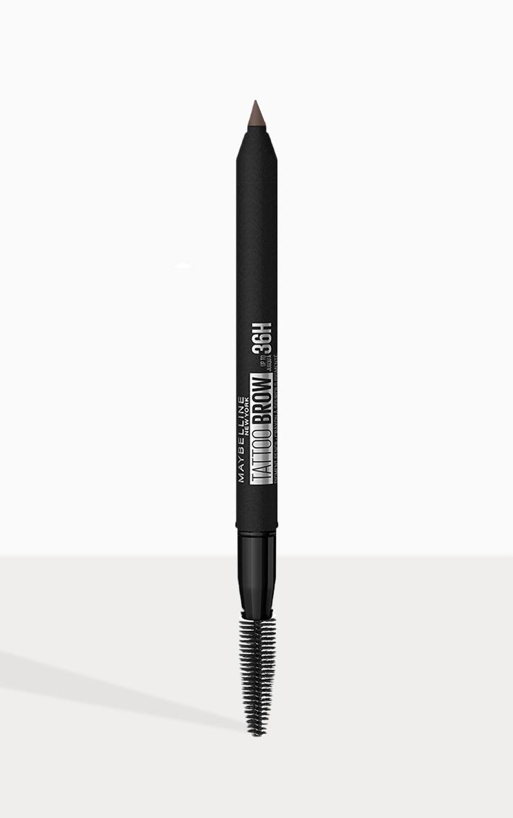 Maybelline Tattoo Brow Semi Permanent 36HR Eyebrow Pencil Deep Brown 07 2