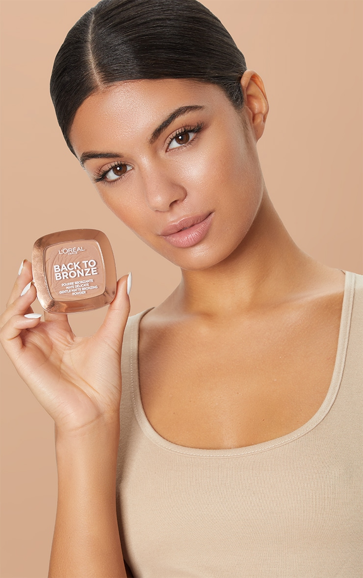 L'Oréal Paris Back To Bronze Matte Bronzing Powder 4