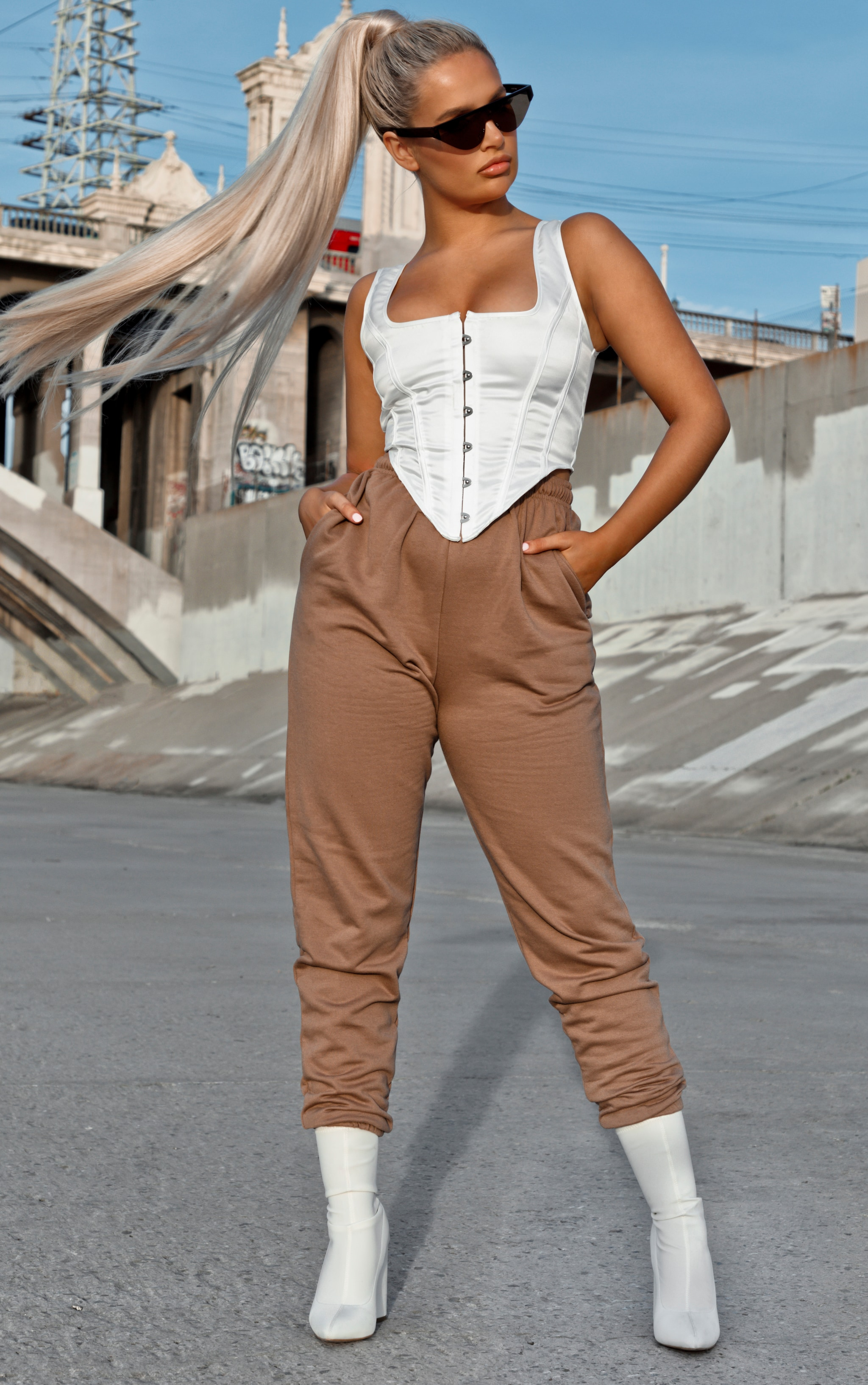 Chocolate Casual Joggers 1