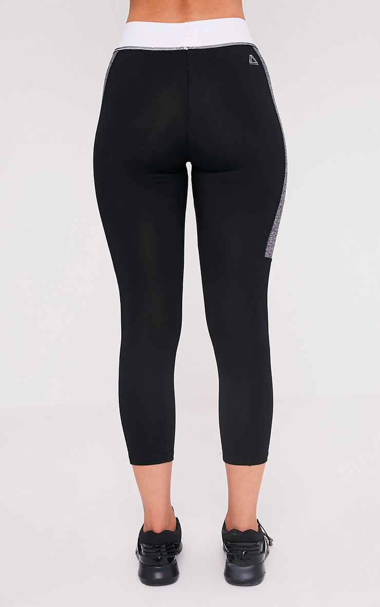 Isadora leggings de gym à empiècement contrastés 5
