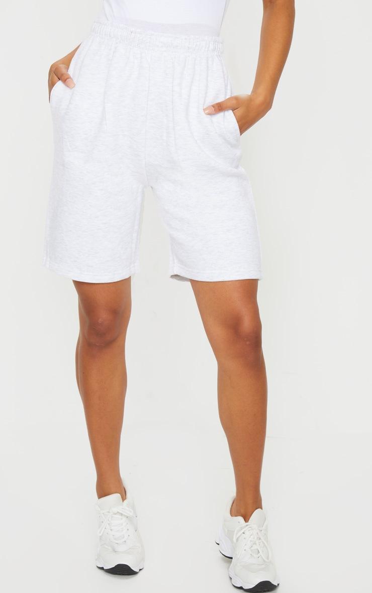 Ash Grey Sweat Shorts 2