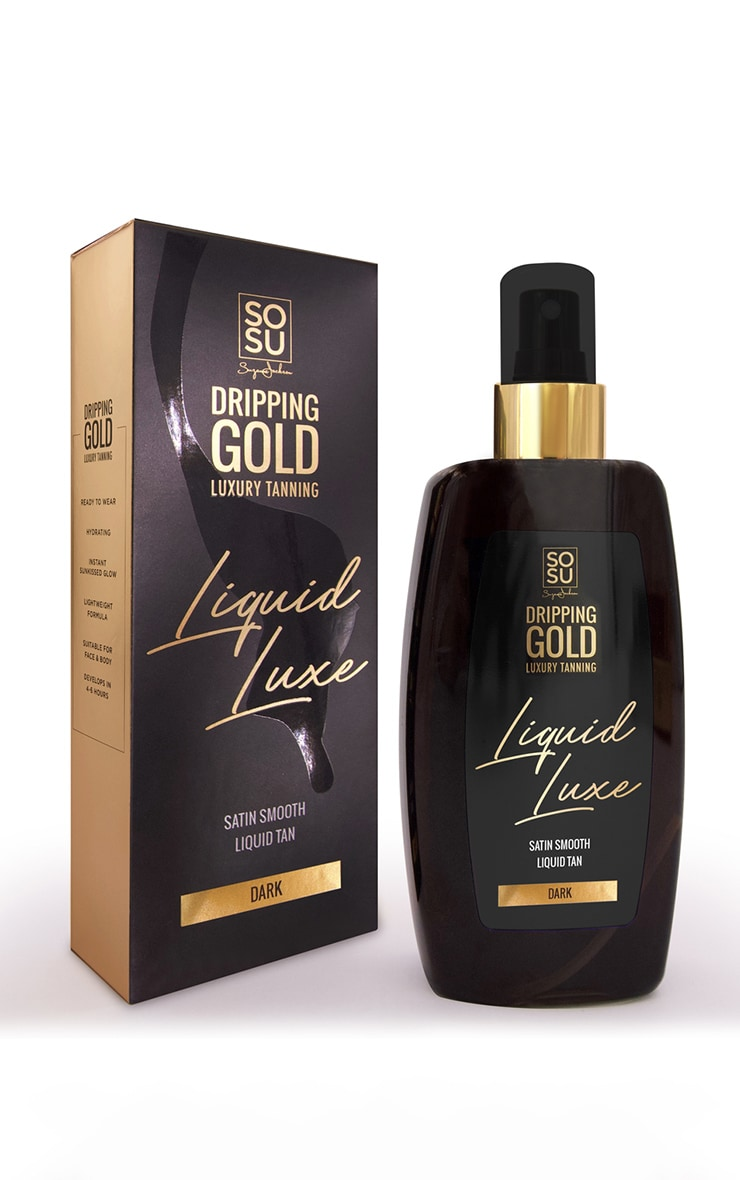 SOSUBYSJ Dripping Gold Liquid Luxe Liquid Tan Dark 2