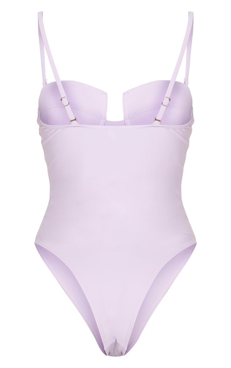 Lilac Balcony Cupped Swimsuit 4