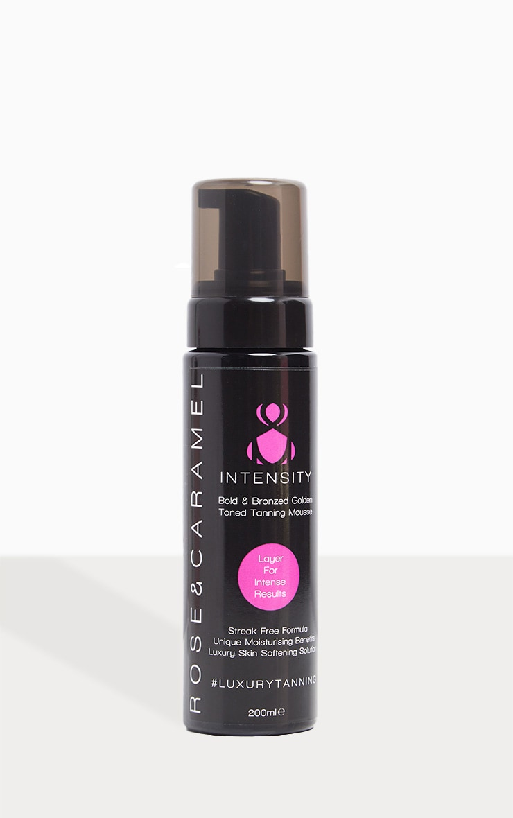 Rose & Caramel Intensity Build & Bold Bronzed Self Tan Mousse 2