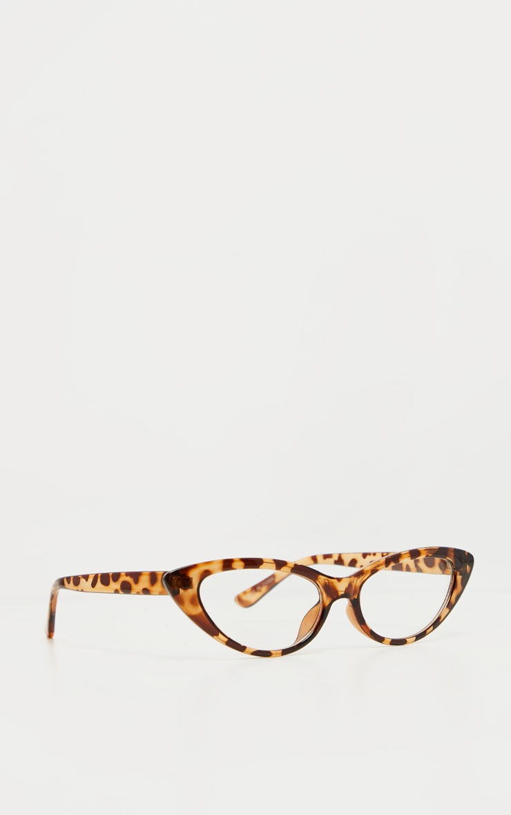 Leopard Frame Pointed Cat Eye Readers 2