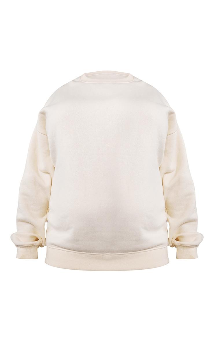 RENEW Cream Oversized Sweater 5