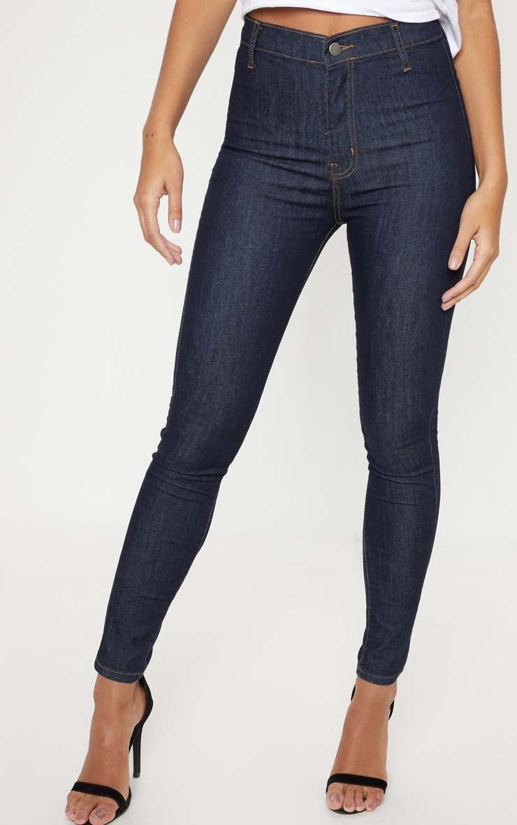 Indigo Disco Fit Skinny Jeans 2