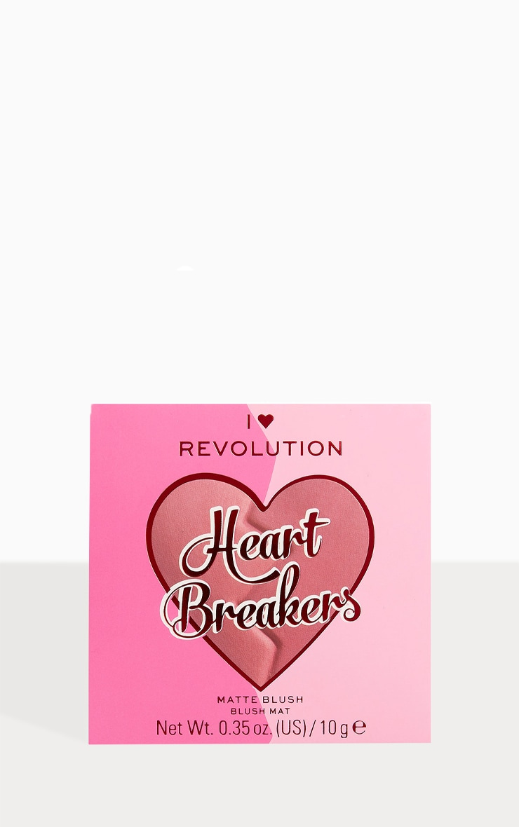 I Heart Revolution Heartbreakers Matte Blush Independent 2