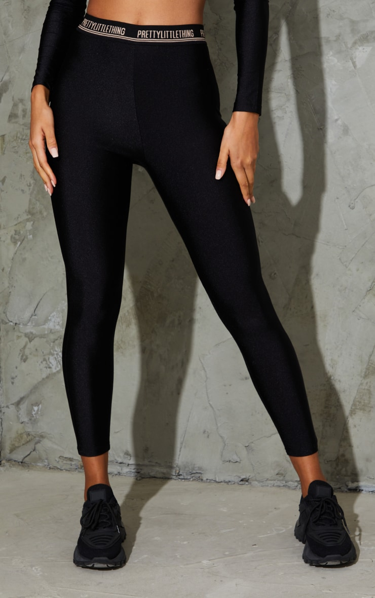PRETTYLITTLETHING Black Gym Legging 2