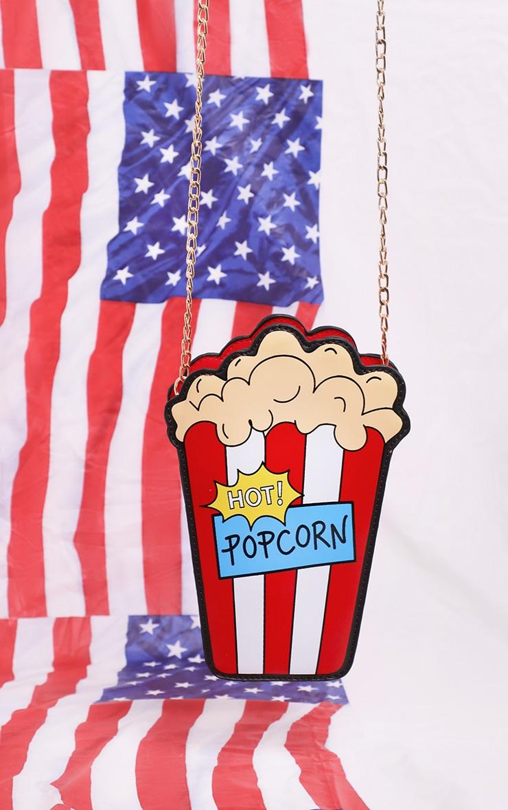 Multi Hot Popcorn Cross Body Bag 3
