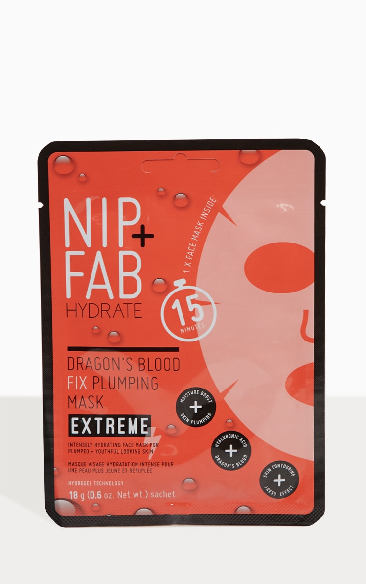 NIP + FAB Dragons Blood Fix Extreme Plumping Mask  2