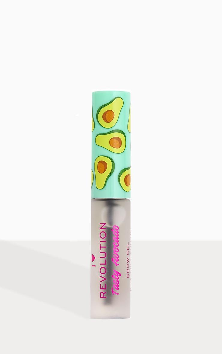 I Heart Revolution Tasty Avocado Brow Gel Clear 1