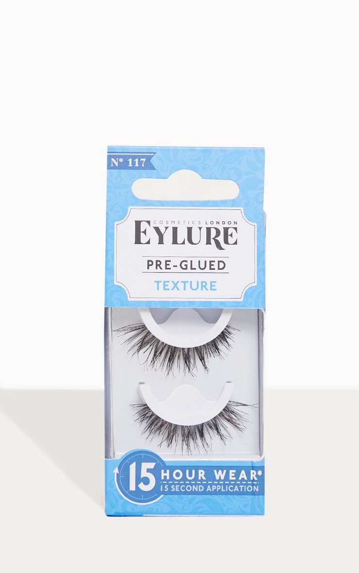d218c85f969 Eylure Pre-Glued Texture Lashes 117 | Beauty | PrettyLittleThing USA