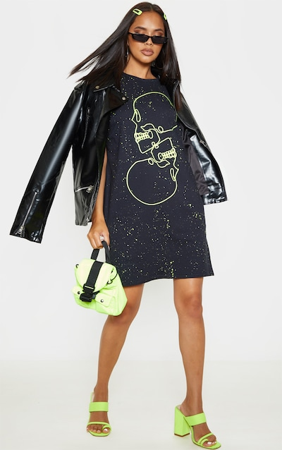 ea0d0367a03d T-Shirt Dresses | Oversized T Shirt Dresses | PrettyLittleThing