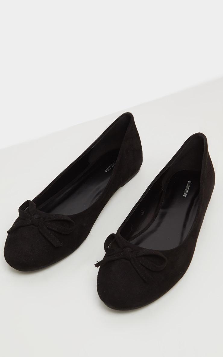 Black Round Toe Ballet 1