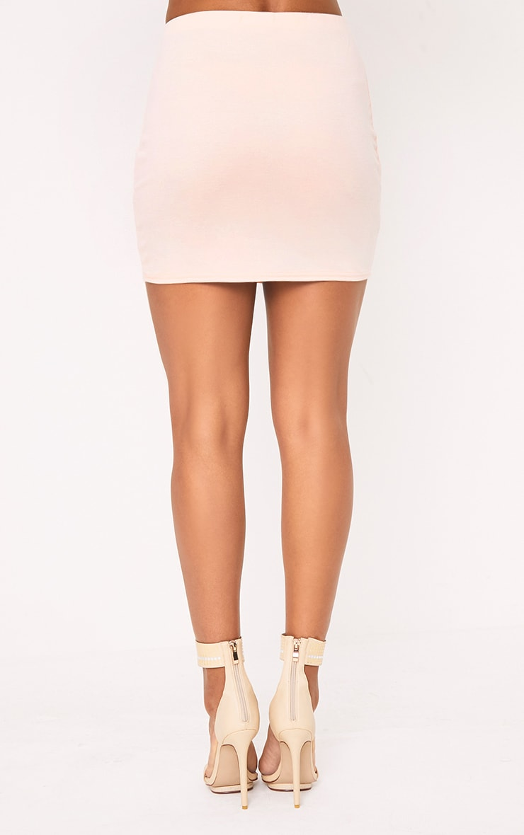 Blush Ruffle Mini Skirt 4