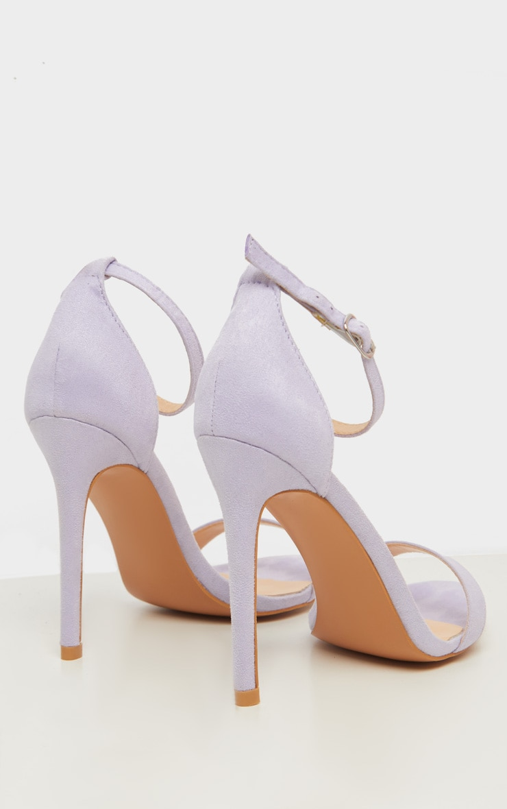 Lilac Clover Strappy Sandal 4