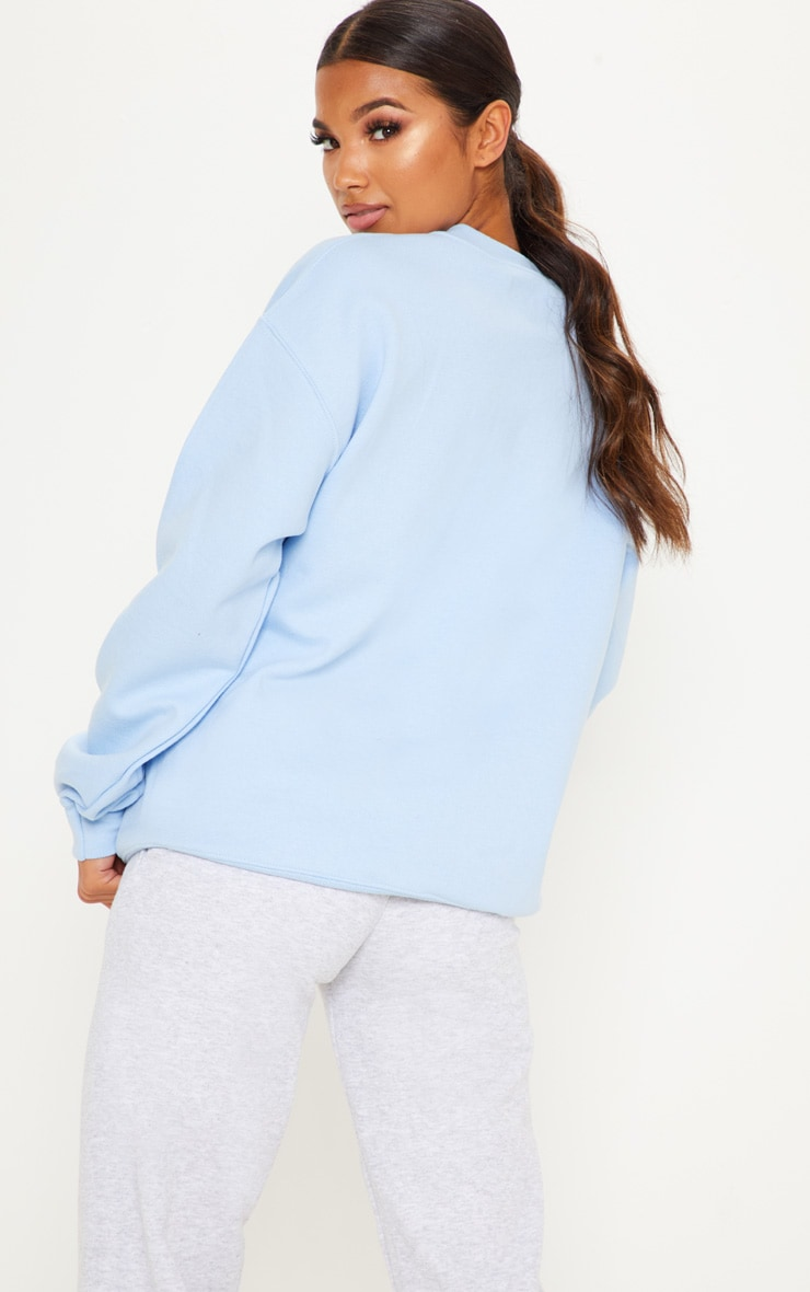 Light Blue Ultimate Oversized Sweater 2