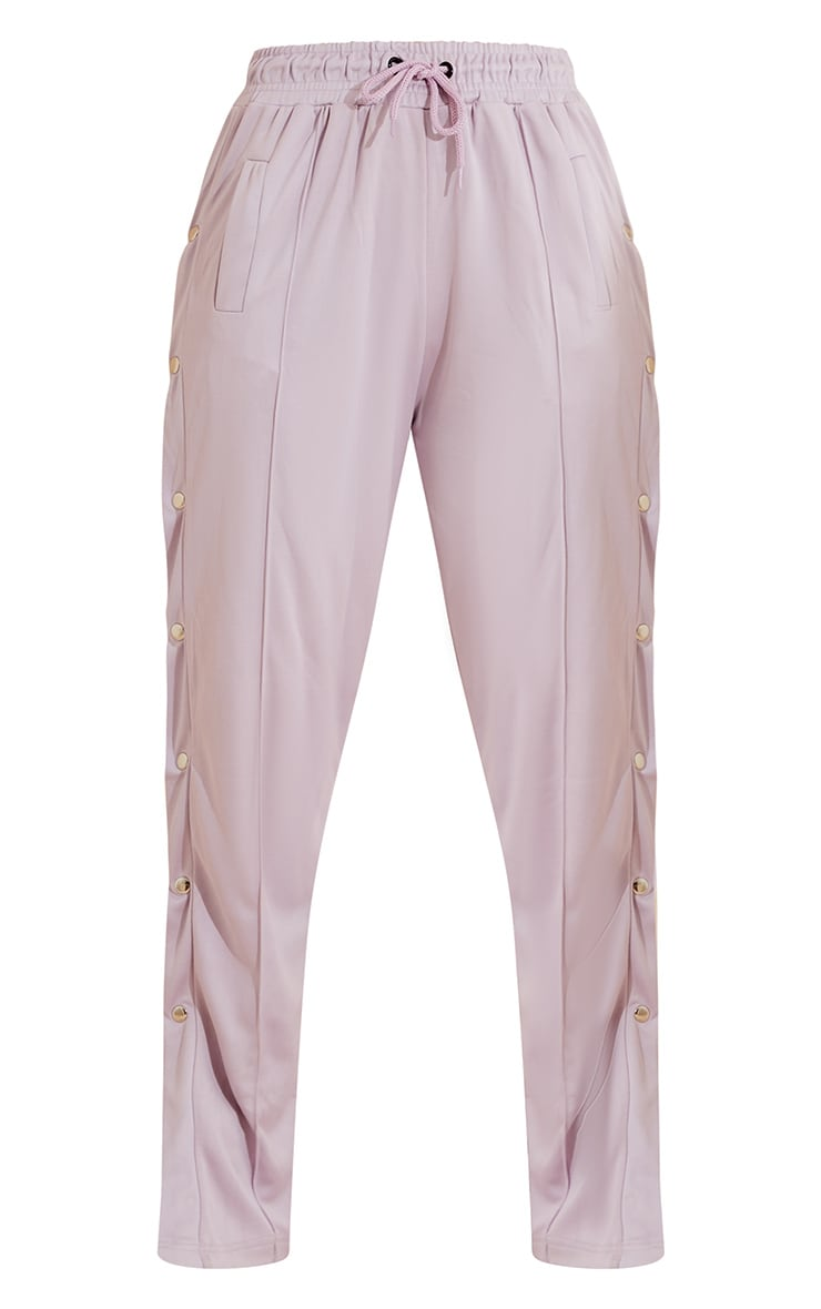 Lilac Popper Track Joggers 5