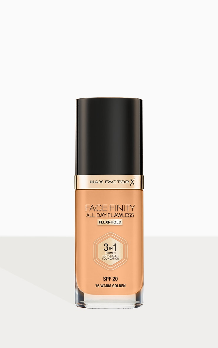 Max Factor Facefinity All Day Flawless Foundation Warm Golden 1
