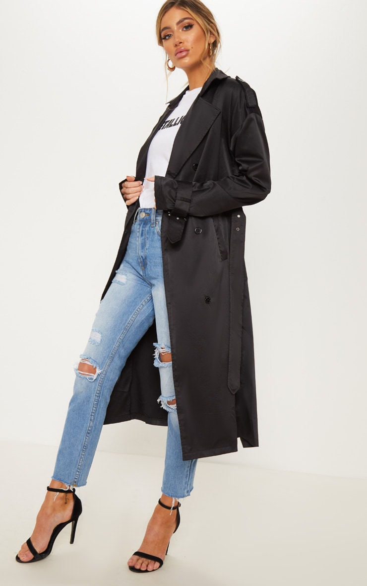 Black Trench Coat  4