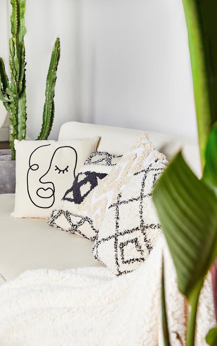 Abstract Face Cushion 1