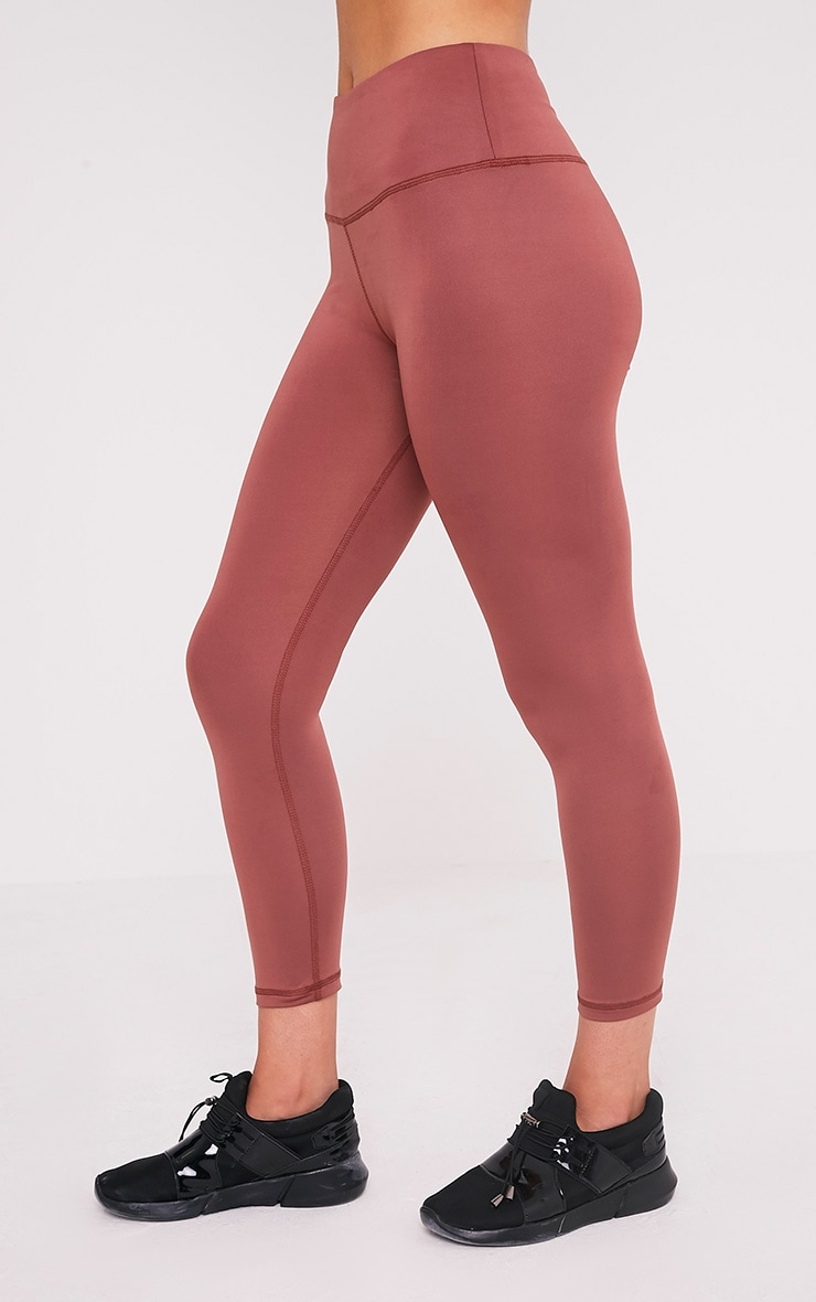Brooke leggings de gym rose pâle 4