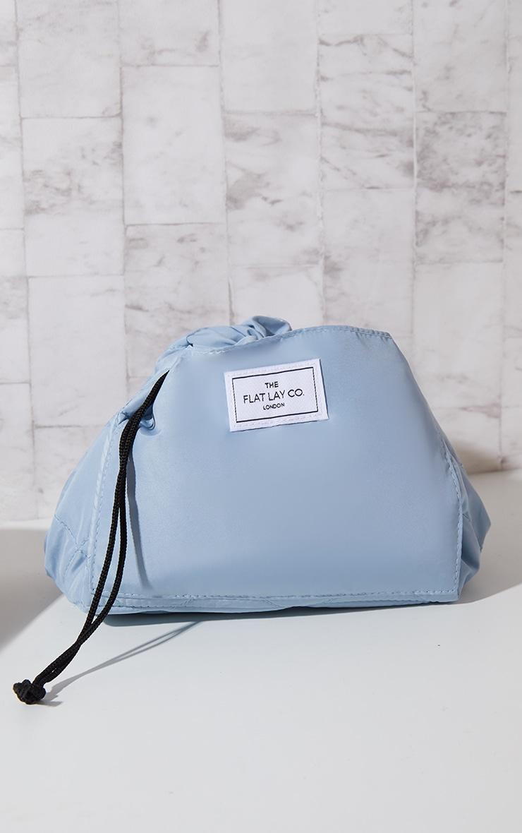 The Flat Lay Co Makeup Bag Haze Blue 1