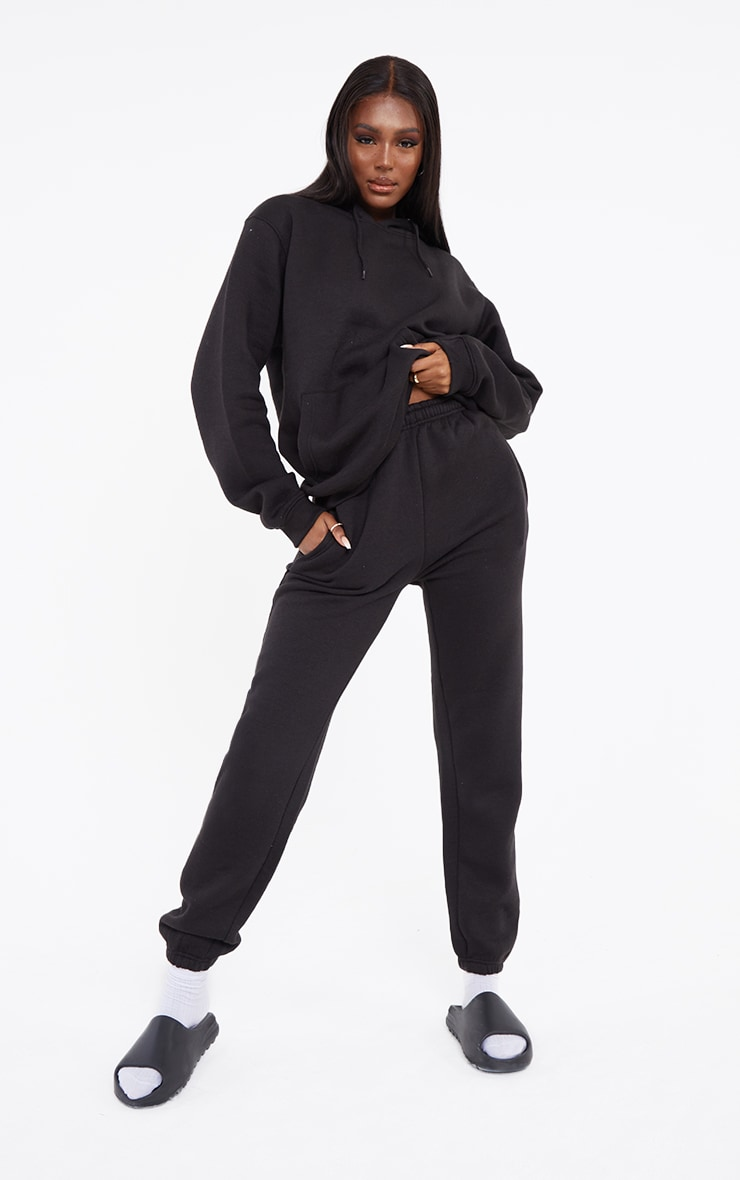 Tall Black Ultimate Sweat Joggers 1