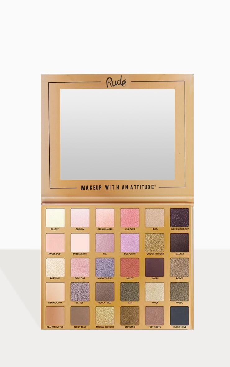 Rude Cosmetics Au Naturel 30 Eyeshadow Palette 1