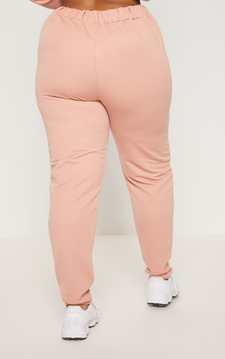 Plus Dusty Coral Joggers 4