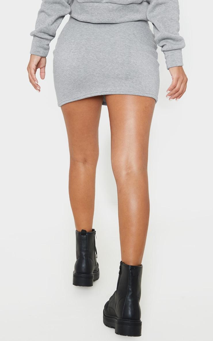 Petite Grey Sweat Skirt 4