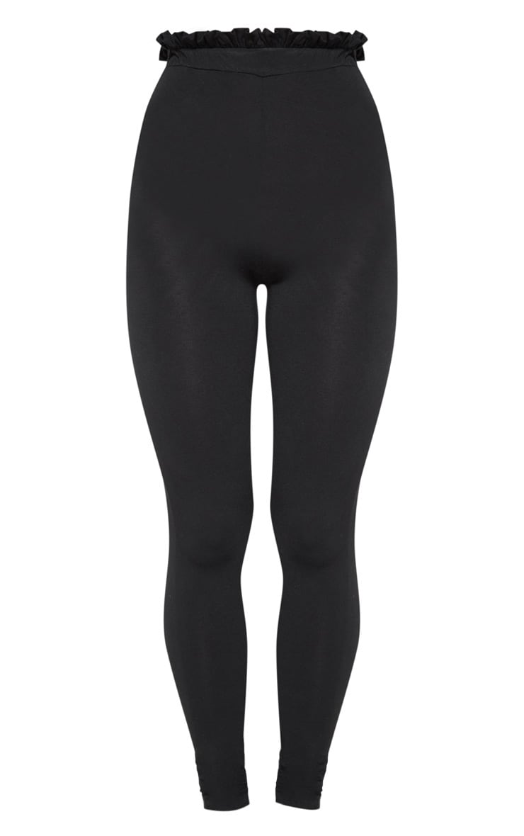 Black Paperbag Leggings 3