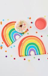 Ginger Ray Pride Rainbow Napkins 1